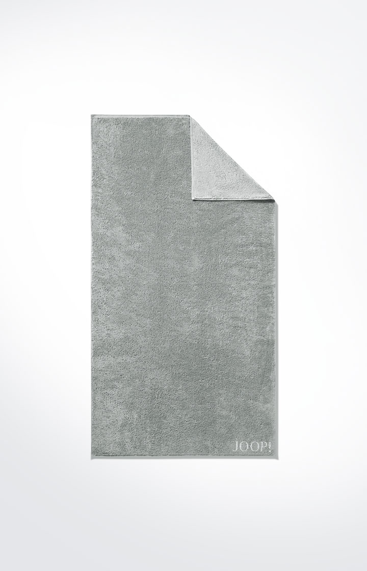 Image of Duschtuch Classic Doubleface, Silber-Grau