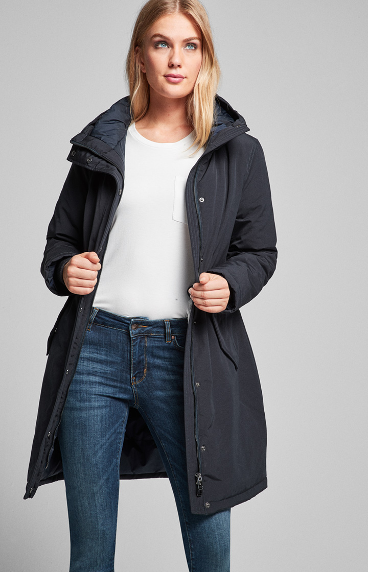 Parka Orya in Navy