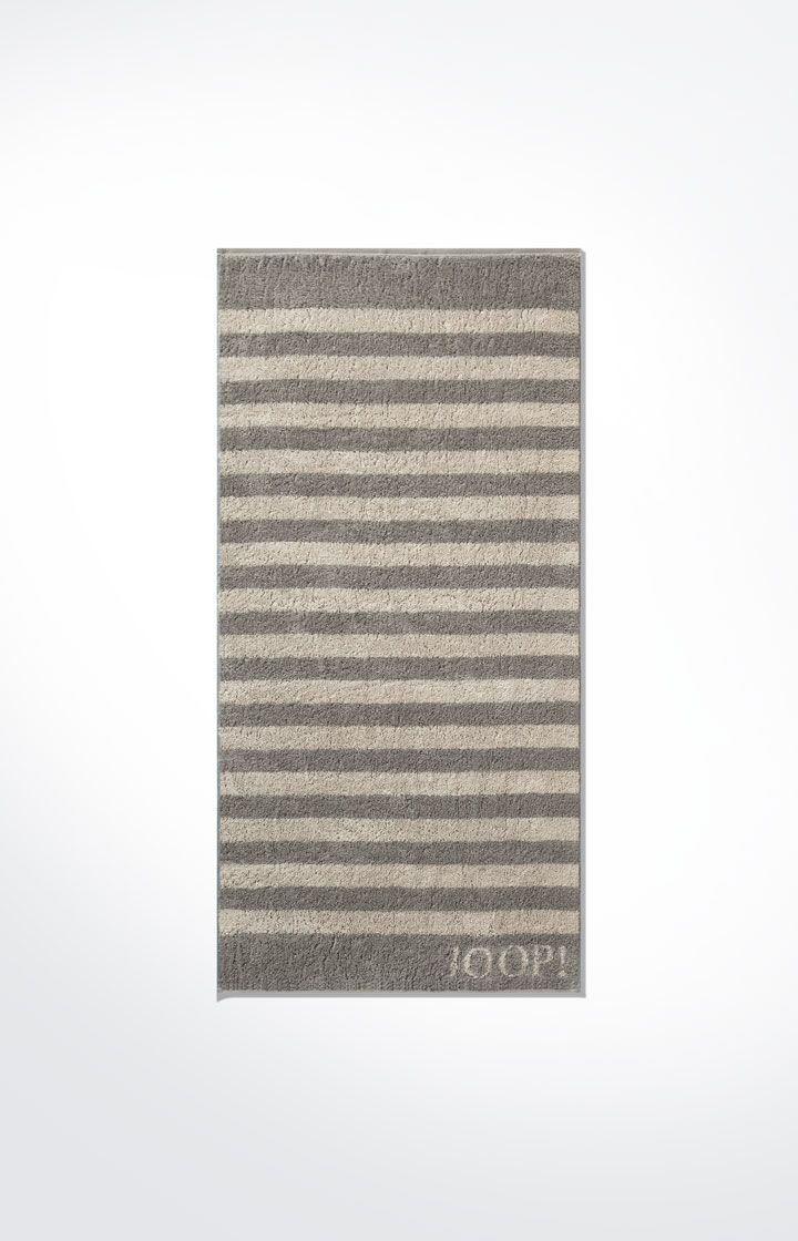Frottierserie Classic Stripes, Taupe