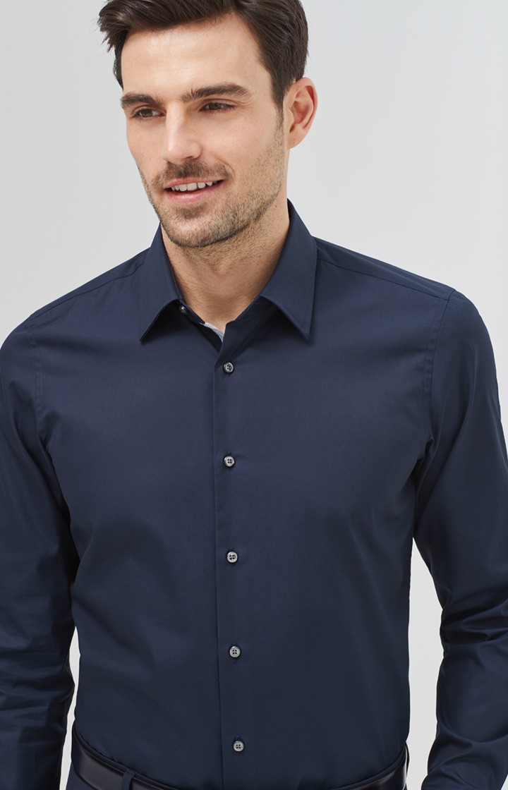 Hemd Pierce in Navy