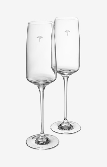 Champagnerglas Single Cornflower - 2er Set
