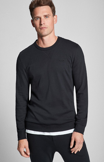 Pullover Preston in Schwarz
