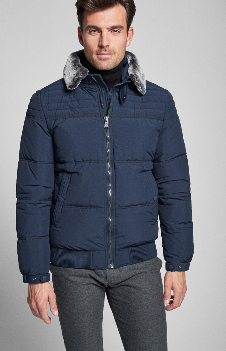 Steppjacke Tobito in Navy