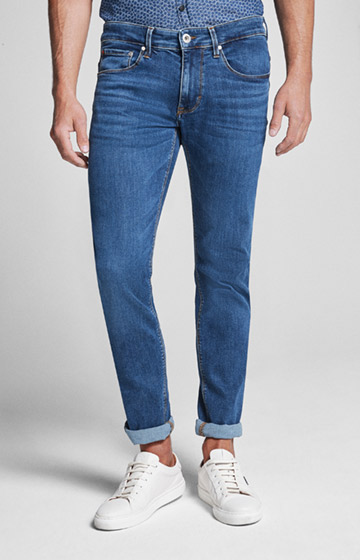 Jeans Stephen in Medium Blau