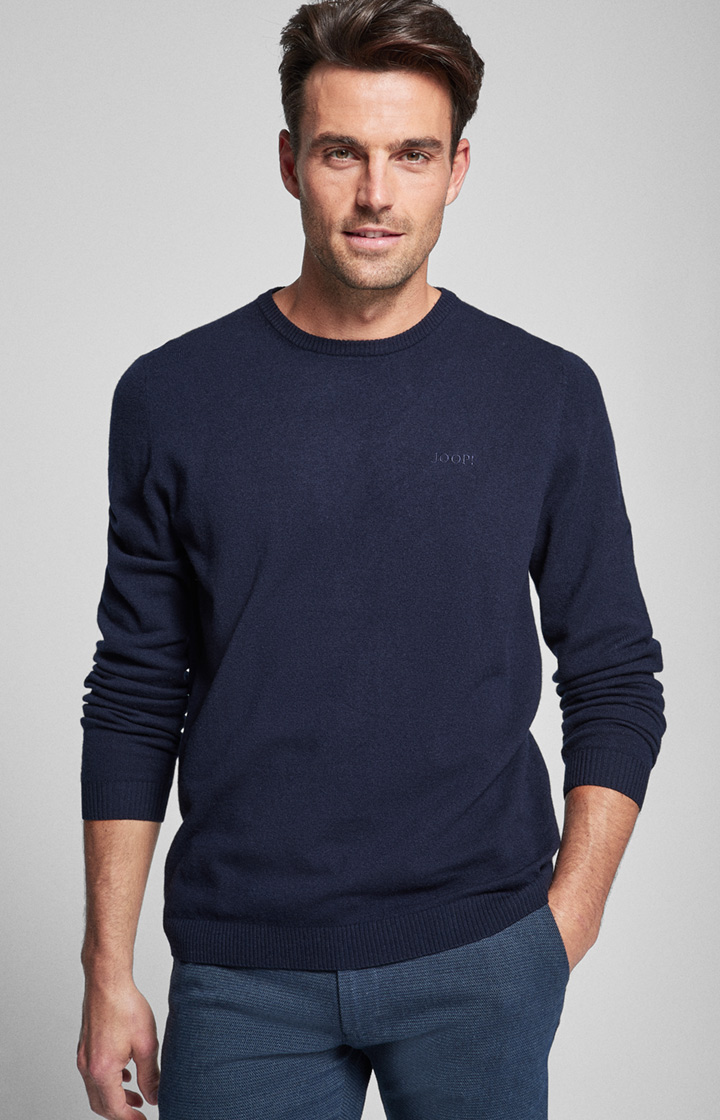 Pullover Nero in Navy