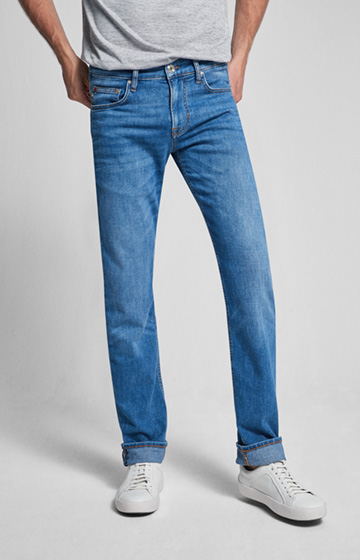 CANDIANI Jeans Mitch in Light Mid Blue