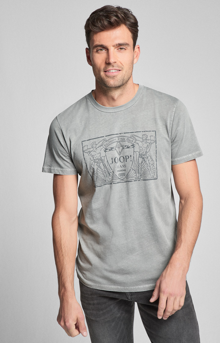 T-Shirt Agostino in Grau