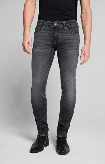 Power-Stretch Jeans Stephen in Grau