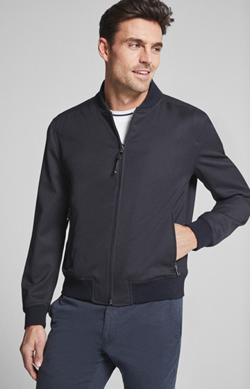 Blouson Indro in Navy