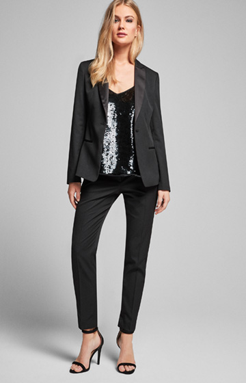 Smoking-Blazer Janni in Schwarz