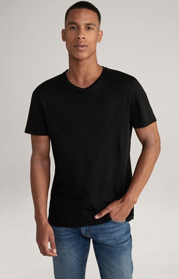 T-Shirt Corrado in Schwarz