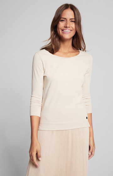 Shirt Taiia in Beige