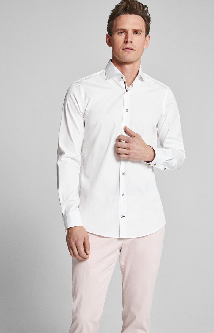 Hemd Panko bügelleicht Weiß Idee 3954