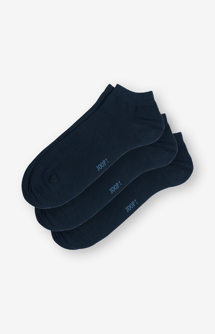 3er-Pack Sneaker-Socken in Marine