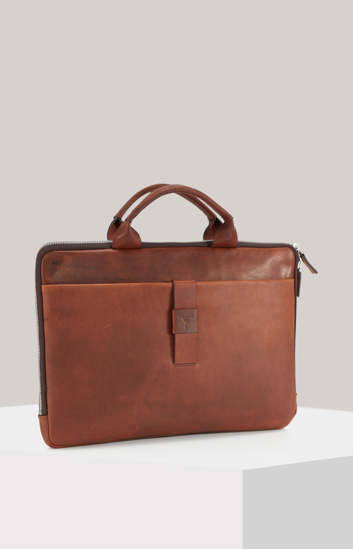 Business-Tasche Loreto Samu in Cognac-Braun