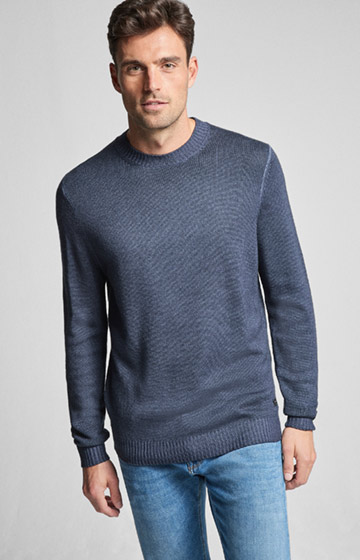 Pullover Lucas in Navy