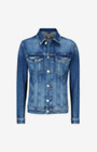 Jeans-Jacke Jax in Navy/Washed-Blue