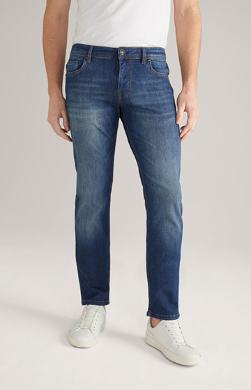 Candiani Jeans Fortres in Blue Washed