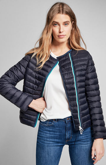 Steppjacke Olici in Navy