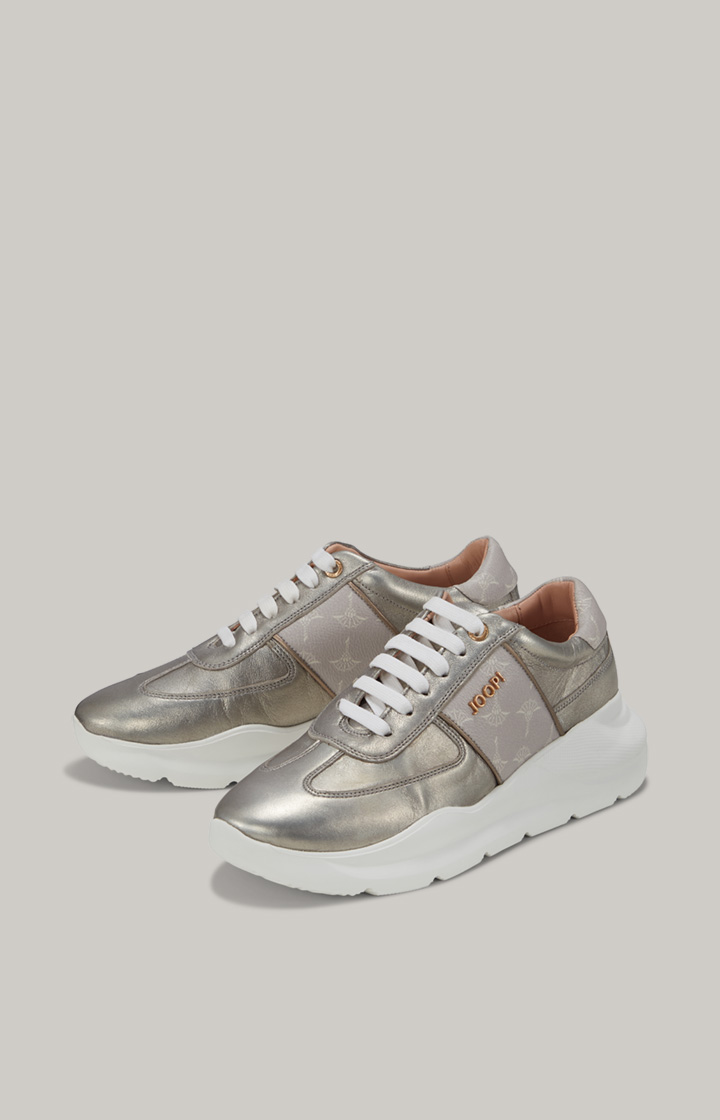Sneaker Cortina Lista in Metallic