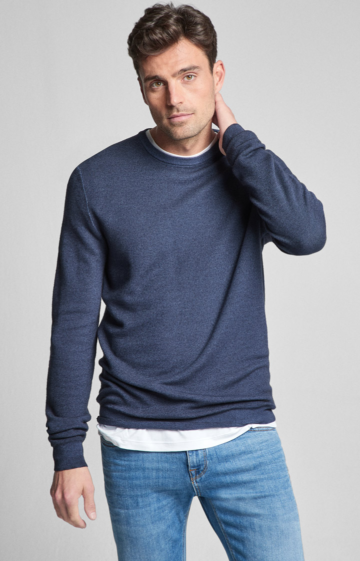 Pullover Sandros in Navy