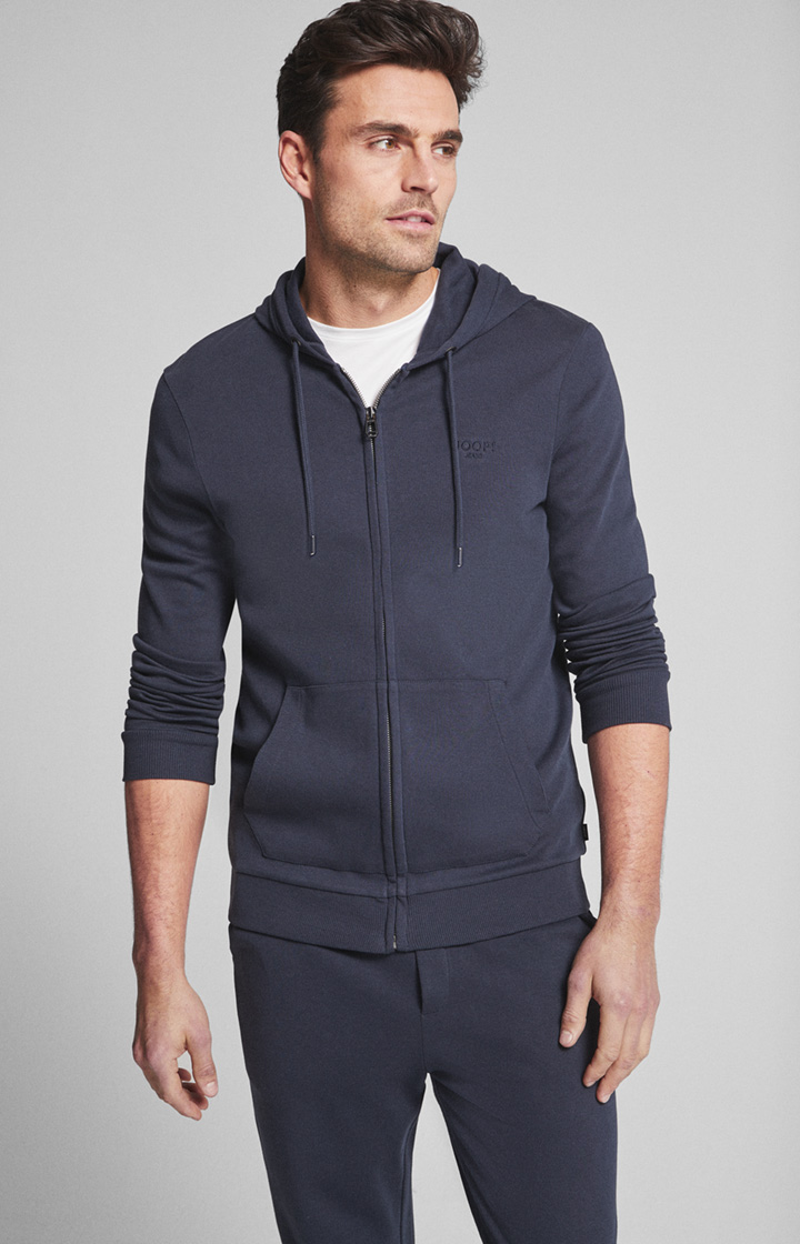 Sweatjacke Matteo in Navy