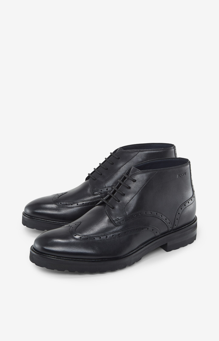 Brogue-Boots Danilo in Schwarz