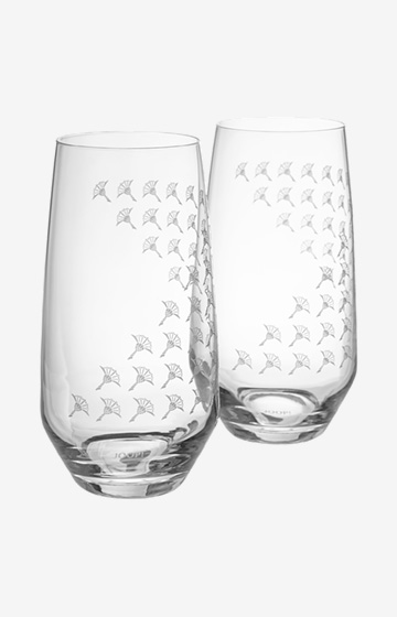 Longdrinkglas Faded Cornflower - 2er Set