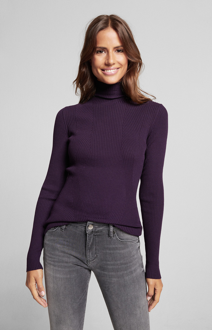 Pullover Kirsa in Dark Purple