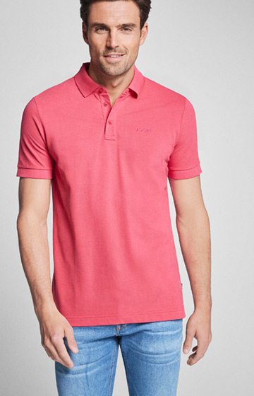 Polo-Shirt Primus in Pink