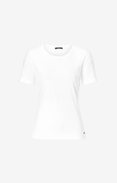 Basic-Shirt Tess in Weiß