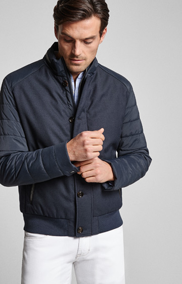 Jacke Flynn in Navy
