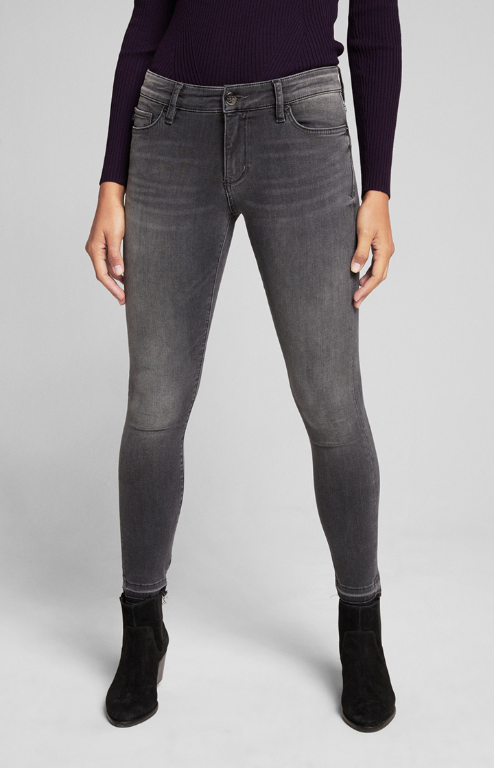 Skinny Fit Jeans Sue in Denim Grau
