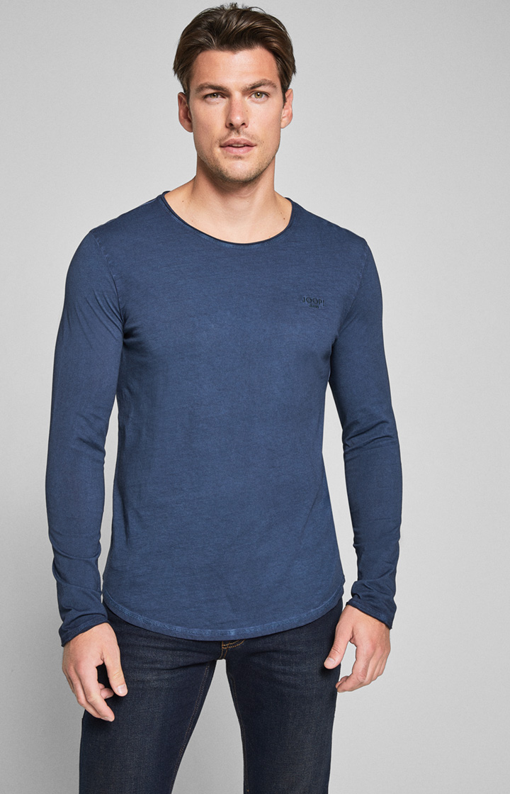 Longsleeve Carlos in Navy