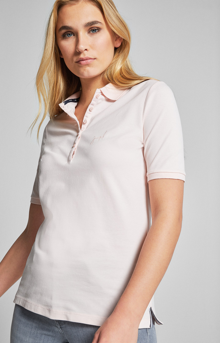 Poloshirt Thea in Rose