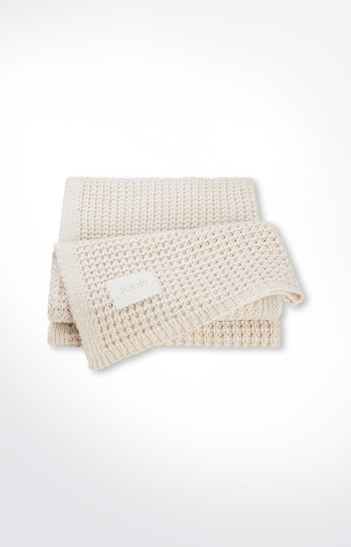 Strickplaid Knit, Creme