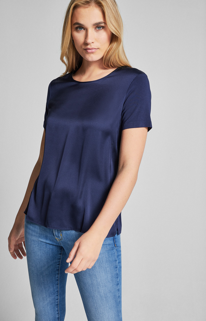 Jersey T-Shirt Tani in Navy