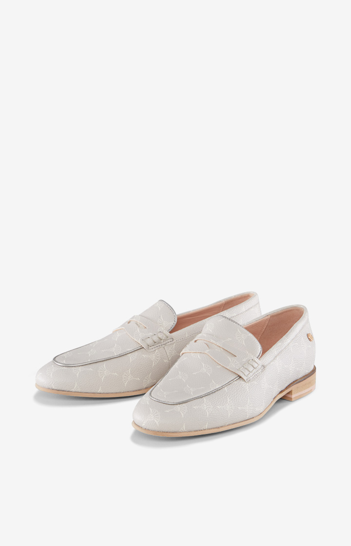 Loafer Cortina Filippa in Hellgrau gemustert