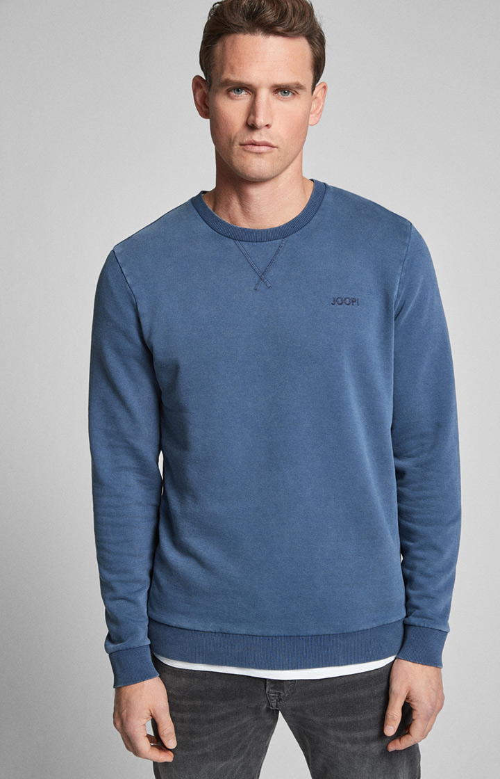 Sweatshirt Palmiro in Navy